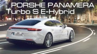 NEW Porshe Panamera Turbo S E-Hybrid/ Features