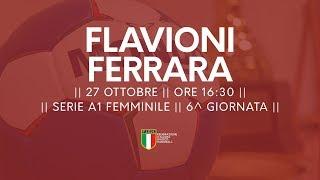 Serie A1F [6^]: Flavioni - Ariosto Ferrara 20-26