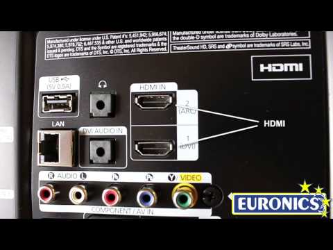 TV LED 3D Samsung UE40ES6100 - Euronics