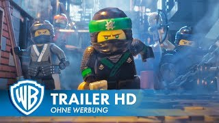THE LEGO® NINJAGO® MOVIE – Trailer #1 Deutsch HD German (2017)
