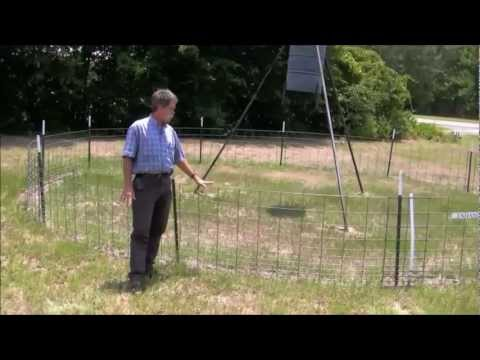 Feral Hog Fencing for Feeders