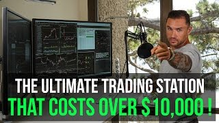 "Day Trading Setup & Station with Dell 43"" 4k P4317q Monitors That Costs $10,000"