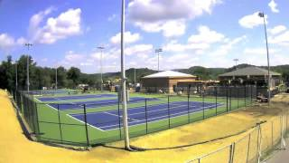 Tennis Courts Time Lapse | Winton Hill Construction Camera | Juniata College