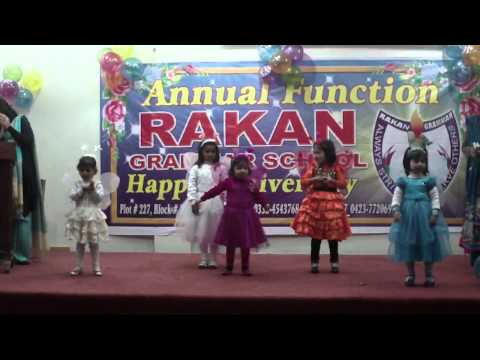 Rakan Grammar School, 1st Annual Function 2010-11, 01-01-2011, Titli Hoon Main Titli Hoon video