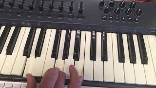Stay With Me: Keyboard Chords
