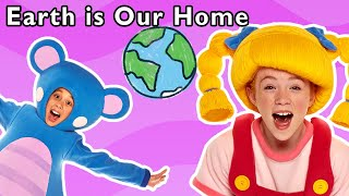 Earth is Our Home + More | Mother Goose Club Nursery Rhymes