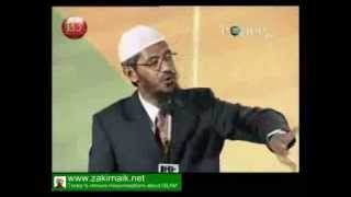 Zakir Naik Q&A-110  |   If Islam uplifts women then why women is not allowed to intract with men