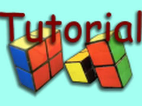 How to Make a 2x2x1 Rubik s Cube - Easy!!!
