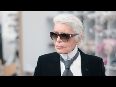 Karl Lagerfeld's Interview - Fall-Winter 2016/17 Haute Couture CHANEL Show