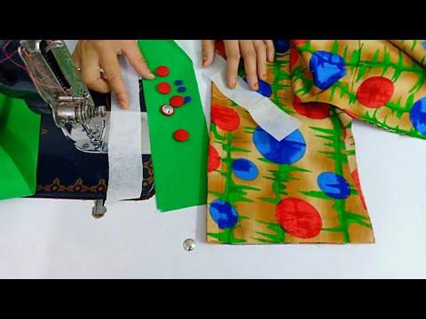 Very beautiful kurti neck design making/ very easy