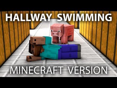 Watch  minecraft animation hallway swim Online Full Movies