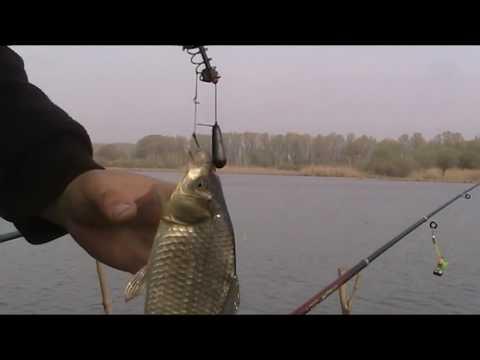видео ловля карася весной в апреле