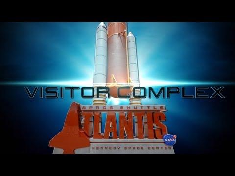 The Space Shuttle Atlantis Exhibit Walk-Thru KSC Visitor Center