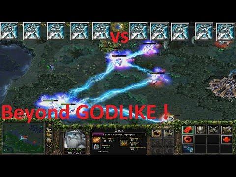 DotA 6.85k - Zeus vs Zeus Beyond GODLIKE !