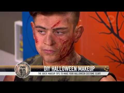 DIY Halloween Makeup | Studio 10