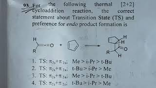 Csir net chemical science june 2018 organic chemistry solutions with mechanism in hindi