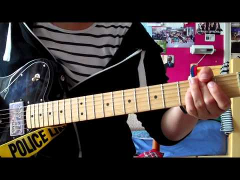 Paramore-monster Guitar Cover video