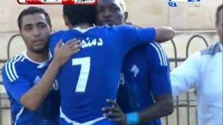 #كأس_مصر |  الهدف الاول لنادى دمنهور فى مرمى الوسطى عن طريق اللاعب ابو كونية