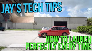 How to Launch your car perfectly using a Clutch Release Valve - Jay