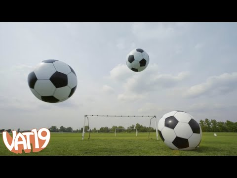 6-Foot Helium Soccer Ball