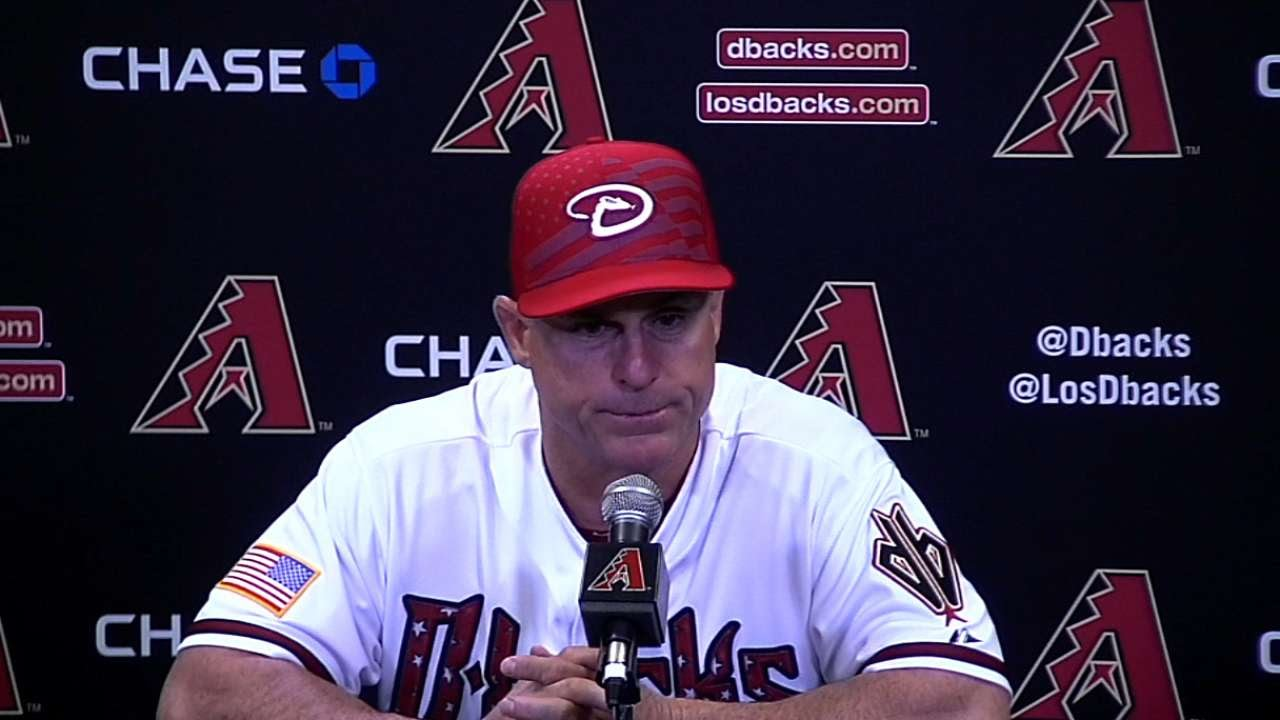 COL@ARI: Hale pleased with Corbin's outing in 7-3 win