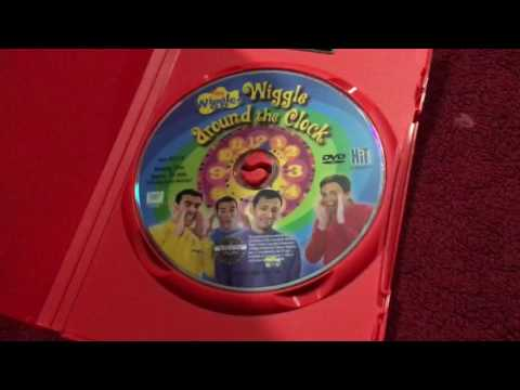 My Wiggles DVD and CD collection