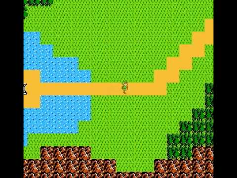 Zelda II - The Adventure of Link - Link is confused in Zelda II The Adventure of Link - User video