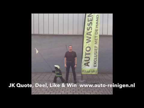 JK Quote, Deel, Like & Win. www.auto-reinigen.nl