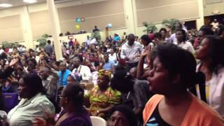 Past. Audalus Estime 50days of praise at Maranatha SDA Church in Broward