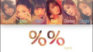 1 시간 1 Hour Loop Apink 에이핑크 Eung Eung 응응 Color Coded