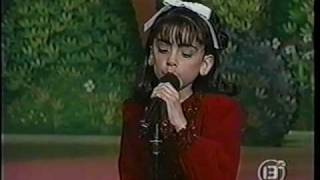 "Vanessa Aguilera en Bravo Bravissimo 1999 - ""I Will always love you""."