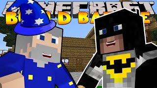 Minecraft - BUILD BATTLES - WIZARDS & BATMAN!