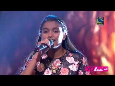 "Indian Idol Junior 2015:Nahid Afrin -"" Zara Sa"" from Jannat"