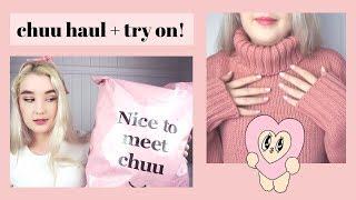 K-Fashion Haul + Try On | Chuu