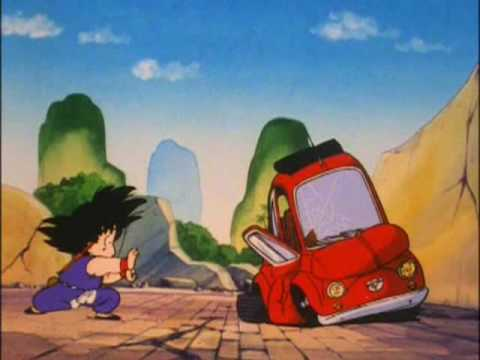 Goku's first Kamehameha Wave