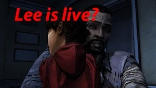 Lee is live? The walking dead the game/Ли жив?