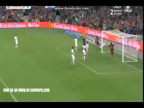Первый тайм ответного матча Кубка Испании Барселона