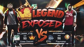 MYPARK LEGEND PULLS UP & GETS EXPOSED!!! CLUTCH GAME OF THE YEAR!! NBA 2K17