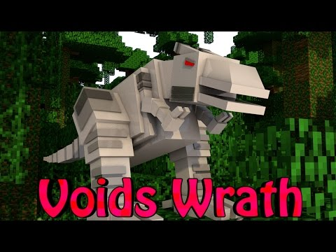 Minecraft Voids Wrath Modded Survival Ep 13 DINO HUNTING