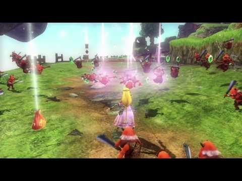 Wii U -- Hyrule Warriors Trailer with Zelda and Baton