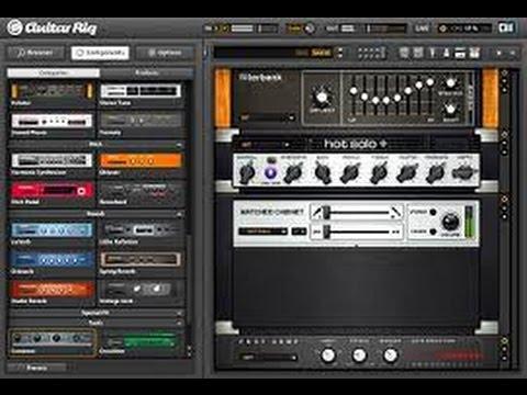 guitar rig download mac