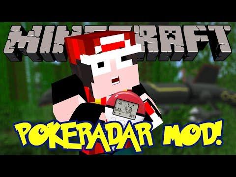 Minecraft Mod Review: Pixelmon PokeRadar! - FIND SHINIES & BOSSES EASY!!