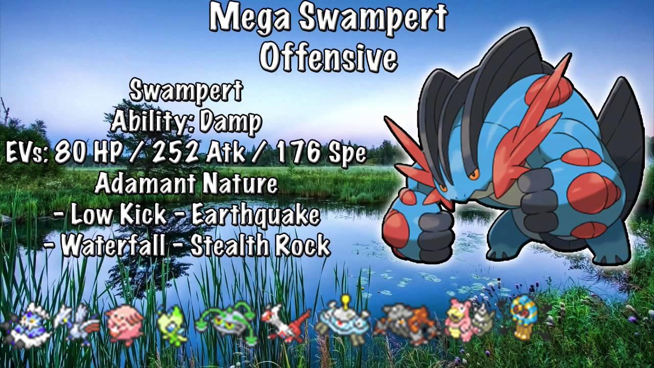 Top Five Mega Swampert Movesets Pok 233 Mon Omega Ruby