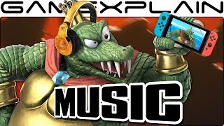 """Smash Bros. Ultimate - We Extended King K. Rool's """"Gangplank Galleon"""" Music Track from Today's Blog!"""