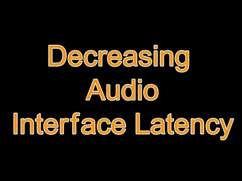Reducing Sound Card Latency for All Audio Interfaces