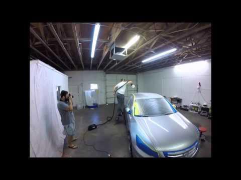 White gloss plasti dip car