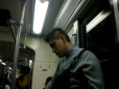 Madrazo en el Metro D.F.