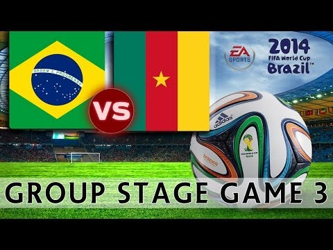 [TTB] 2014 FIFA World Cup Brazil - Brazil Vs Cameroon - Group Stage Game 3 - Ep3