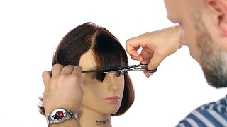 How to Cut Bangs - TheSalonGuy