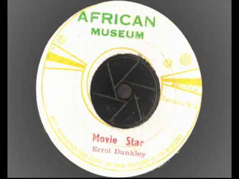 Errol Dunkley - Movie Star - African Museum -  Reggae